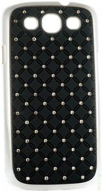 Чехол-накладка Mobiking Diamond Cover для Samsung A300 (A3) Black - Фото №1