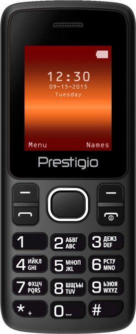 Мобильный телефон Prestigio Wize A1 1170 Duo Black - Фото 1