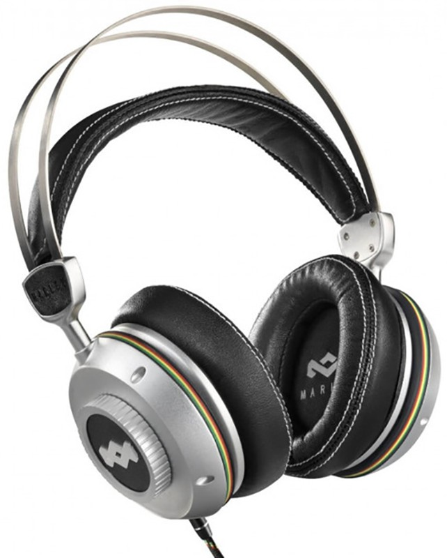 Купить Наушники и гарнитуры, MARLEY Trenchtown Rock Iron Over-Ear Mic Silver (EM-DH003-IO)