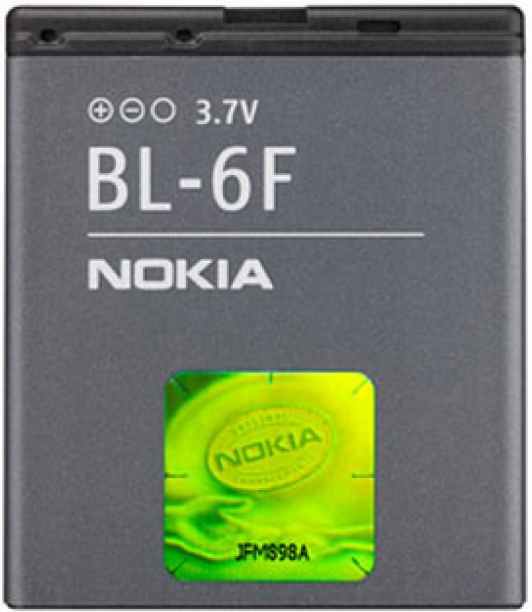 Аккумулятор Nokia N95 8GB (BL-6F) - Фото 1