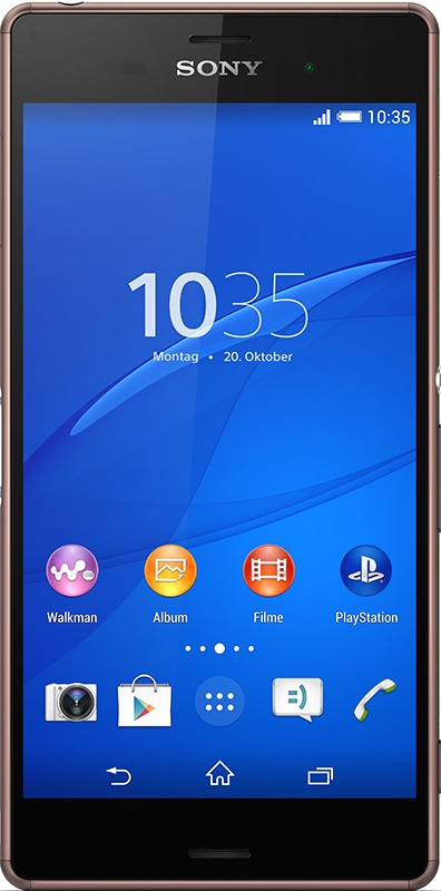 Смартфон Sony Xperia Z3+ Dual E6533 Copper - Фото 1