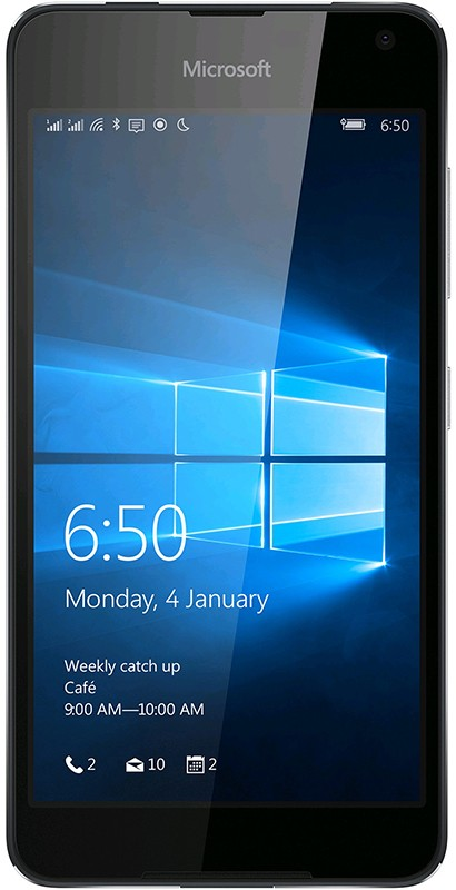 Смартфон Microsoft Lumia 650 Single Sim Black - Фото 1