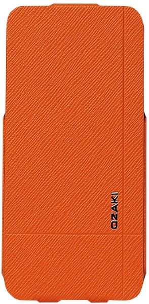 Чехол-книжка Ozaki O!coat Aim Vitality для iPhone 5 Orange - Фото 1