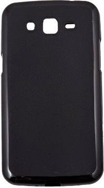 Чехол-накладка Drobak Elastic PU для Samsung Galaxy Grand 2 Duos G7102 Black - Фото 1
