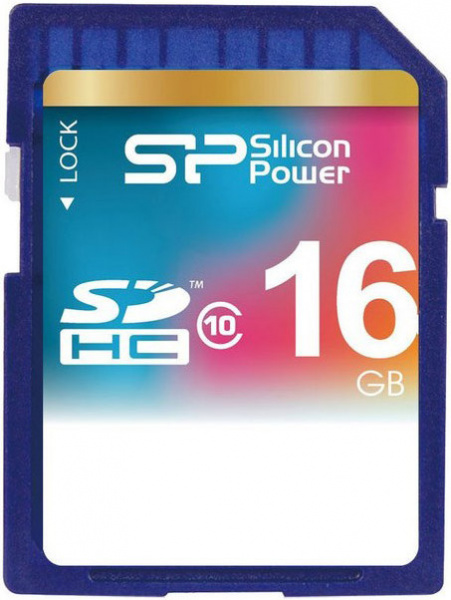 Silicon Power SDHC class10 16Gb
