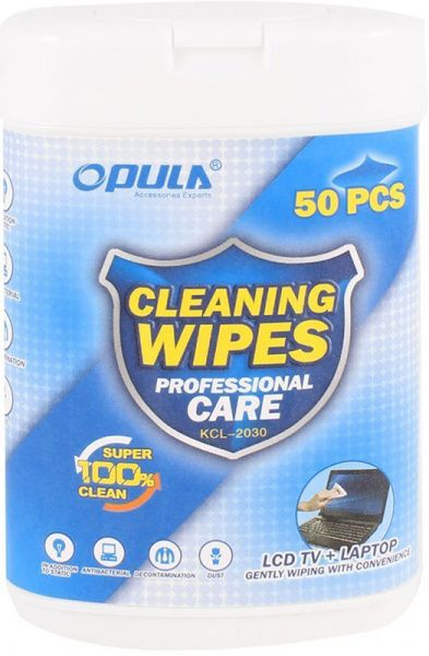Opula KCL-2030 Wet Cleaning Cloth 50 pcs - фото