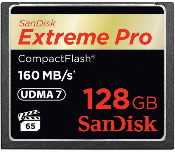 SanDisk CompactFlash Extreme Pro 128GB