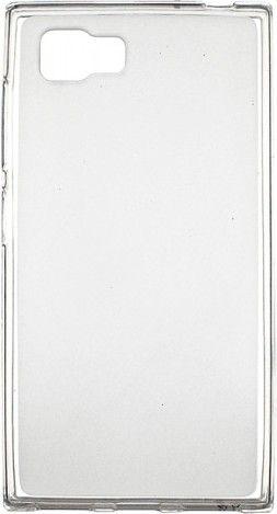 Чехол-накладка Drobak Elastic PU для Lenovo Vibe P1m White\Clear - Фото 1