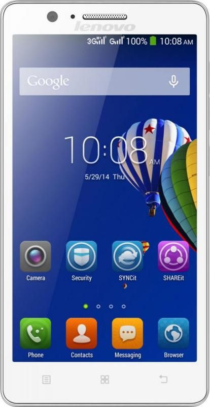 Смартфон Lenovo A536 White - Фото 1