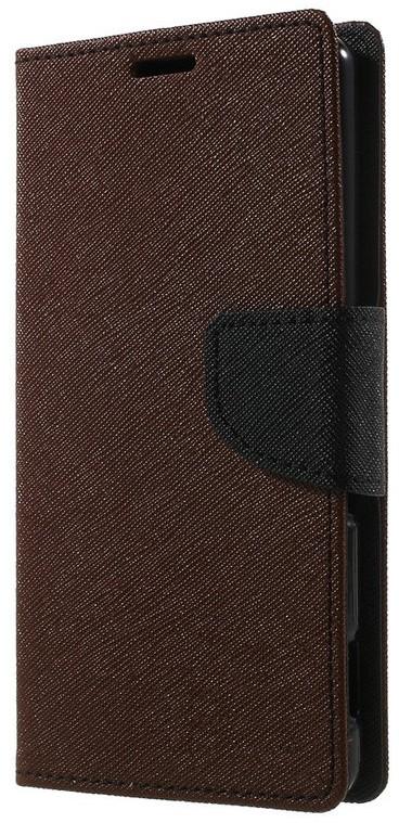 Чехол-книжка TOTO Book Cover Mercury Samsung Galaxy A5 A510 2016 DS Brown - Фото 1