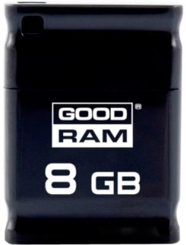 USB Flash Goodram PICCOLO RETAIL 10 8Gb Black - Фото 1