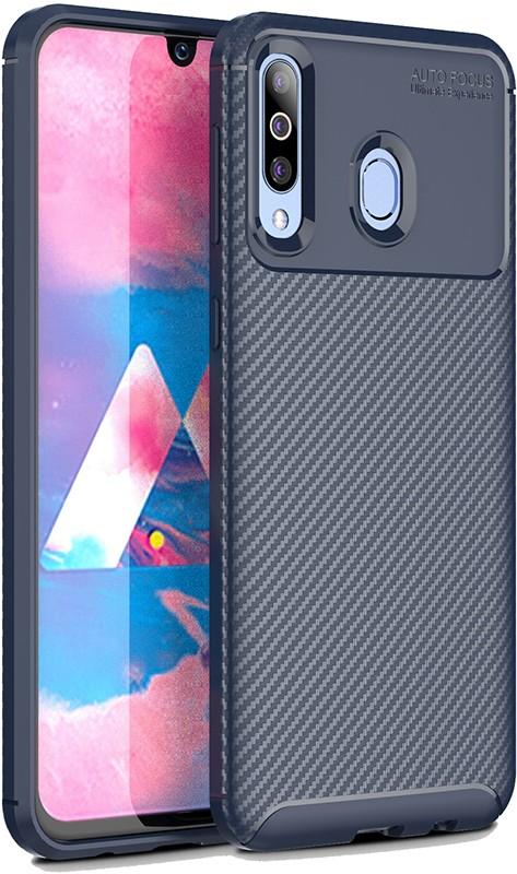 Купить Чехлы для телефонов, TOTO TPU Carbon Fiber 1, 5mm Case Samsung Galaxy A40s/M30 Dark Blue