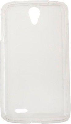 Чехол-накладка Drobak Elastic PU case для Lenovo S820 White - Фото 1