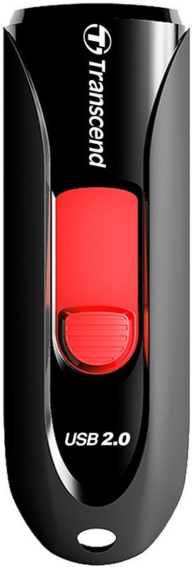 USB Flash Transcend JetFlash 590 64Gb Black - Фото 1