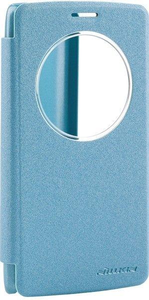Чехол-книжка Nillkin Spark series LG G3s Blue - Фото 1
