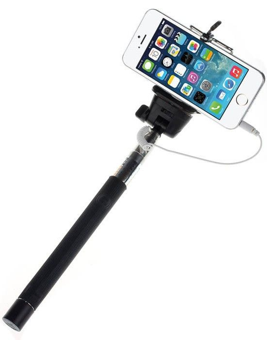 "Монопод Mobiking Monopod 360* Black + кнопка через 3,5"" (850mm) - Фото 1"