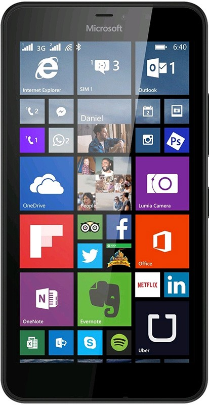 Смартфон Microsoft Lumia 640 XL Dual SIM White - Фото 1