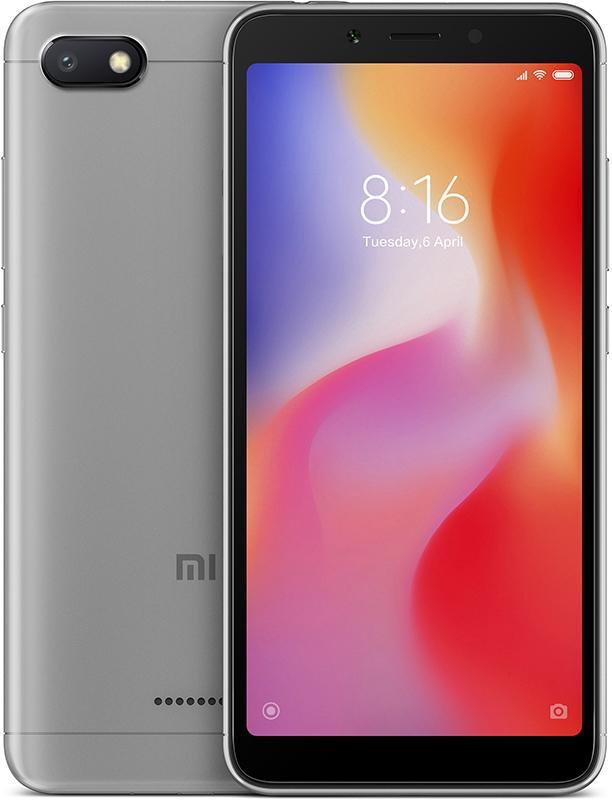 Купить Смартфоны, Xiaomi Redmi 6A 2/16GB Grey