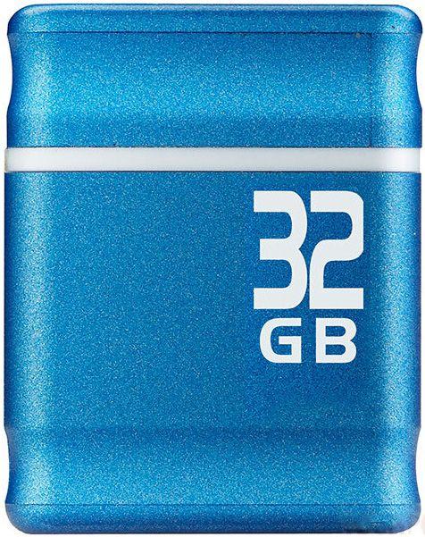 USB Flash Kingmax PI-01 32Gb Blue - Фото 1