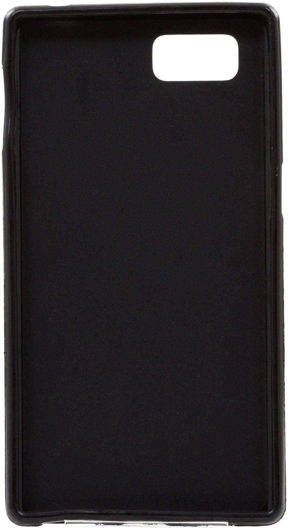 Чехол-накладка Drobak Elastic PU для Lenovo A6000/6010 Black - Фото 1