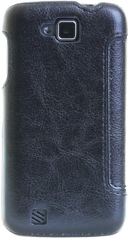 Чехол-книжка RedPoint Fit Book для Prestigio PSP5504 DUO Черный - Фото 1