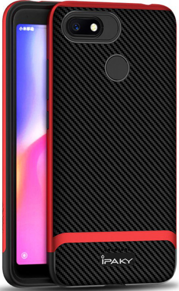 Ipaky Bumblebee Series/ PC Frame with TPU Case Xiaomi Redmi 6A Red - фото