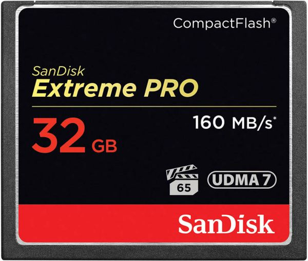 SanDisk CompactFlash Extreme Pro 32Gb