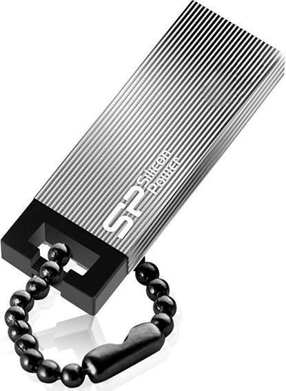 USB Flash Silicon Power Touch 835 8Gb Iron Gray - Фото 1