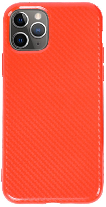 Купить Чехлы для телефонов, TOTO TPU Carbon Fiber 2, 0mm Case Apple iPhone 11 Pro Max Red