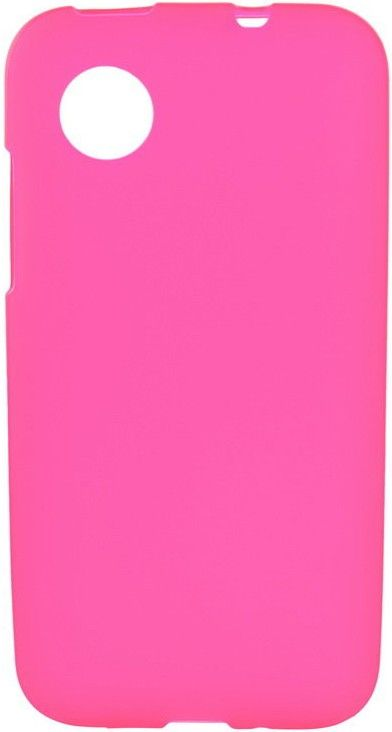 Чехол-накладка Mobiking Silicon Case для LG L80/D380 Pink - Фото 1