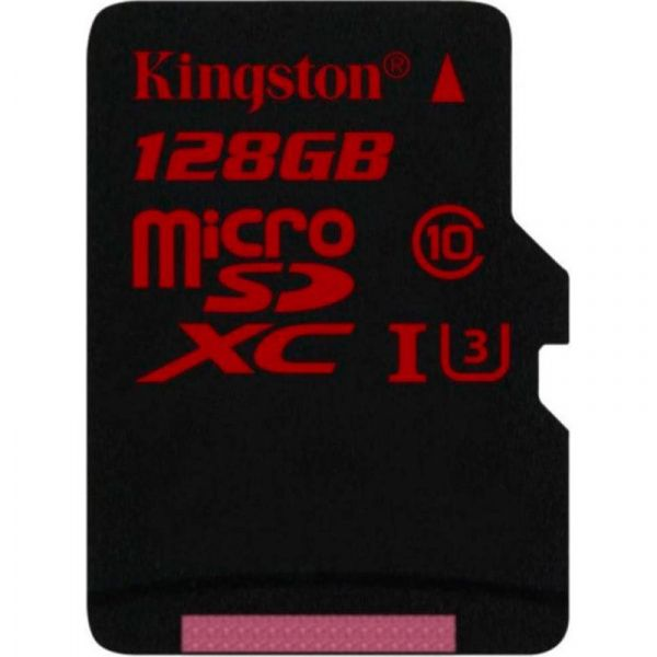 Kingston microSDHC/SDXC UHS-I U3 90R/80W 128Gb