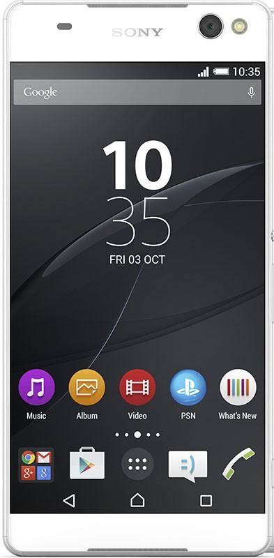 Смартфон Sony Xperia C5 Ultra Dual E5533 White - Фото 1