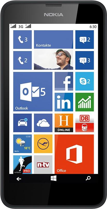 Смартфон Nokia Lumia 630 Black - Фото 1