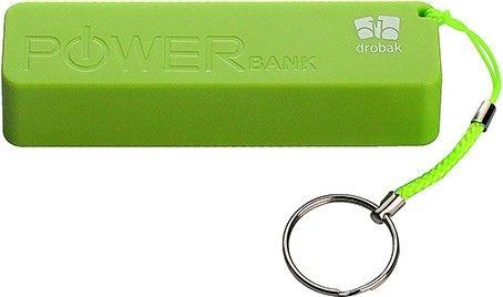 Портативная батарея Drobak Power 1200 mAh/Li-Pol/Green - Фото 1