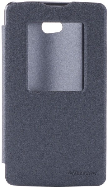 Чехол-накладка Nillkin Spark series LG L80/D380 Dual Black - Фото 1