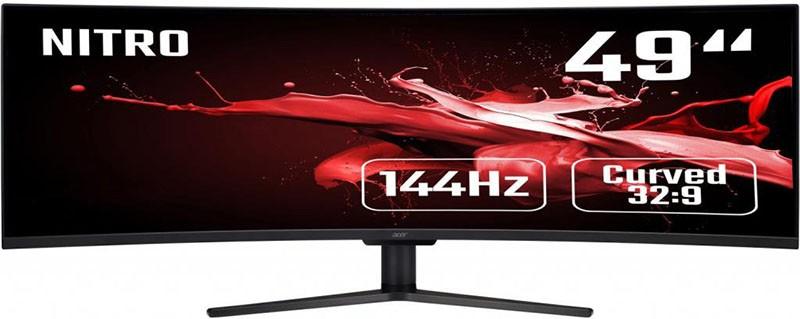 Купить Мониторы, Acer 49 EI491C (UM.SE1EE.P01)