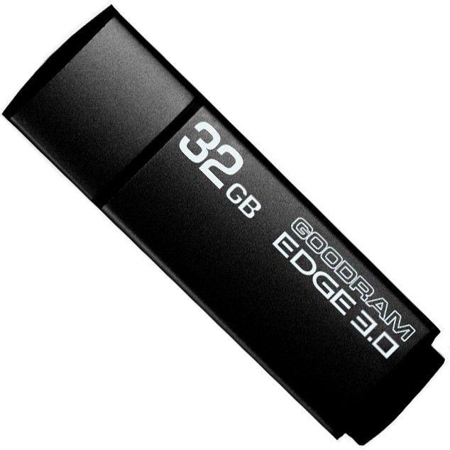 USB Flash Goodram EDGE 32Gb Black - Фото 1