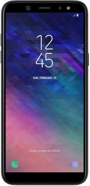 Samsung Galaxy A6 3/32 GB A600F 2018 Black - фото
