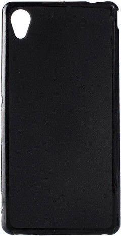 Чехол-накладка NoName Elastic PU для Sony Xperia M4 Aqua Dual Black - Фото 1