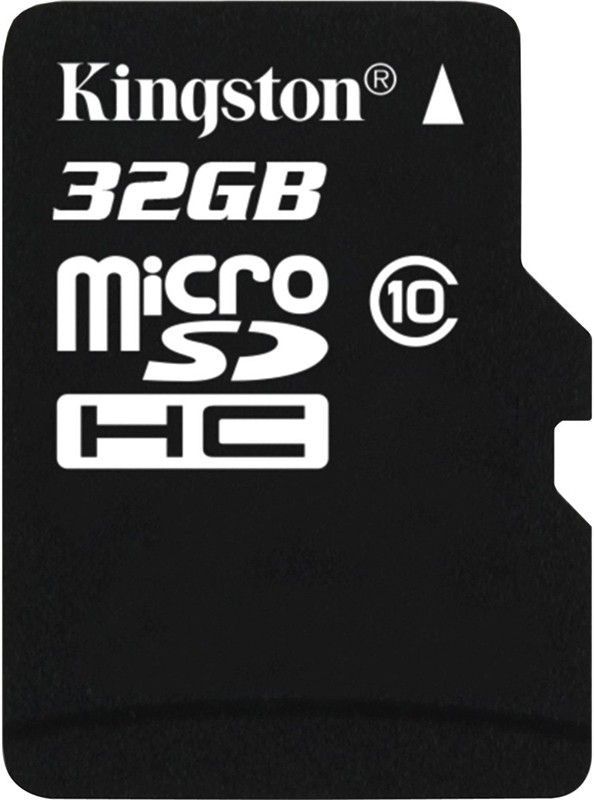 Карта памяти Kingston microSDHC 32Gb class 10 - Фото 1