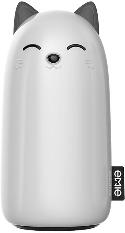 Портативная батарея EMIE Kitten EC01 Power Bank 10000 mAh White - Фото 1