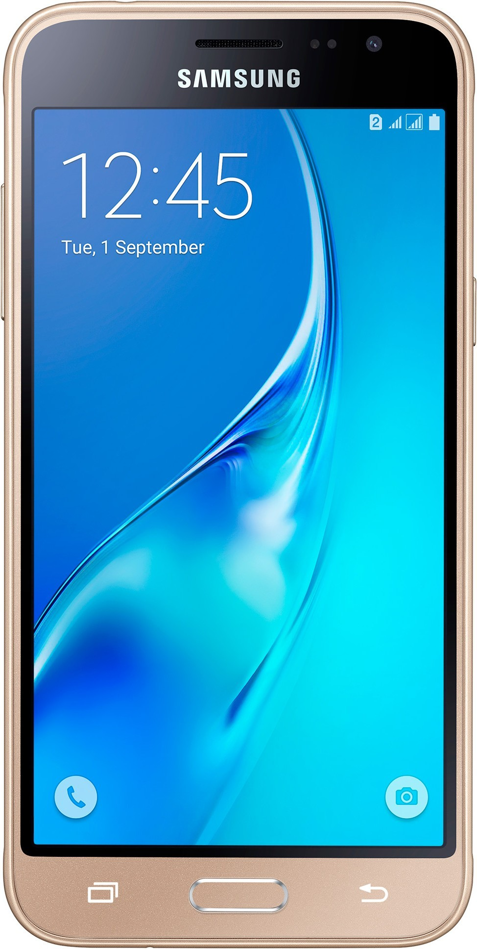 Смартфон Samsung Galaxy J3 J320H Gold - Фото 1