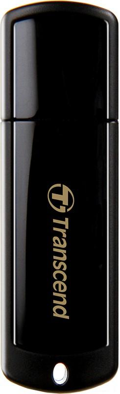 USB Flash Transcend JetFlash 350 32Gb Black - Фото 1