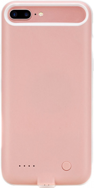 Rock P9 power case 2800m Apple iPhone 7 Plus Pink - фото