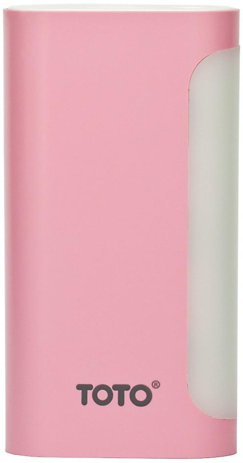 Портативная батарея TOTO TBG-49 Power Bank 5000 mAh 1USB 1A Li-Ion Pink - Фото 1