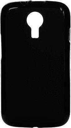 Чехол-накладка Drobak Elastic PU case для Fly IQ239 Black - Фото 1