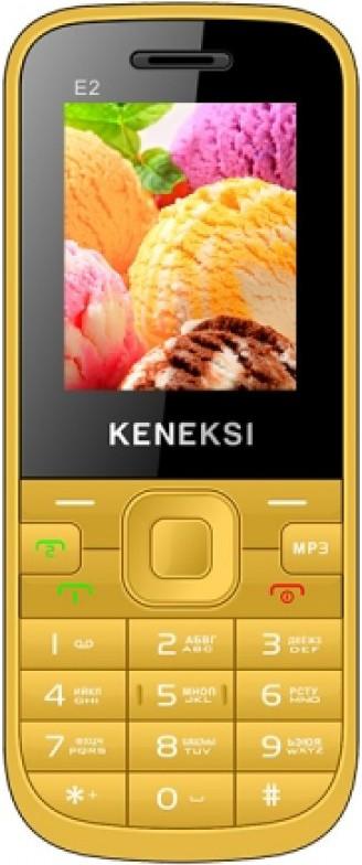 Мобильный телефон Keneksi E2 Yellow - Фото 1