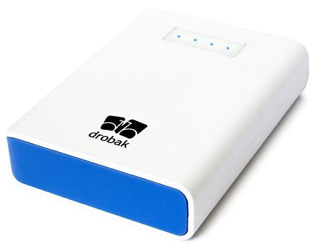 Портативная батарея Drobak Power 8800 mAh/Li-Ion White - Фото 1