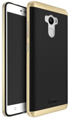 Ipaky TPU+PC Xiaomi Redmi 4 Black/Gold - фото