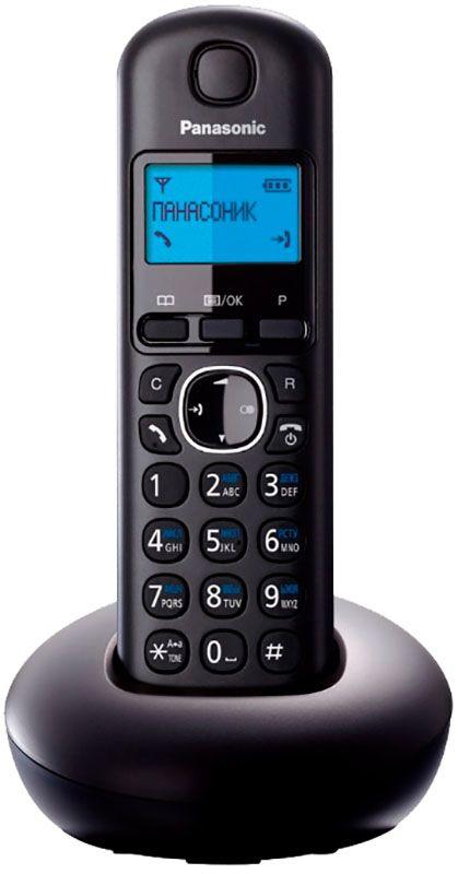 Купить Радиотелефоны, Panasonic KX-TGB210UAB Black